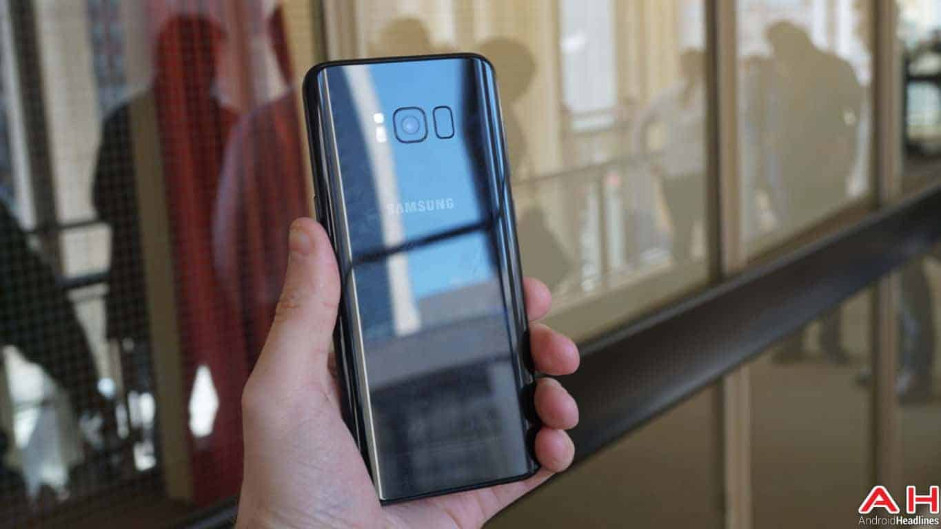 Samsung Galaxy S8 S8 Plus Hands On AH 87