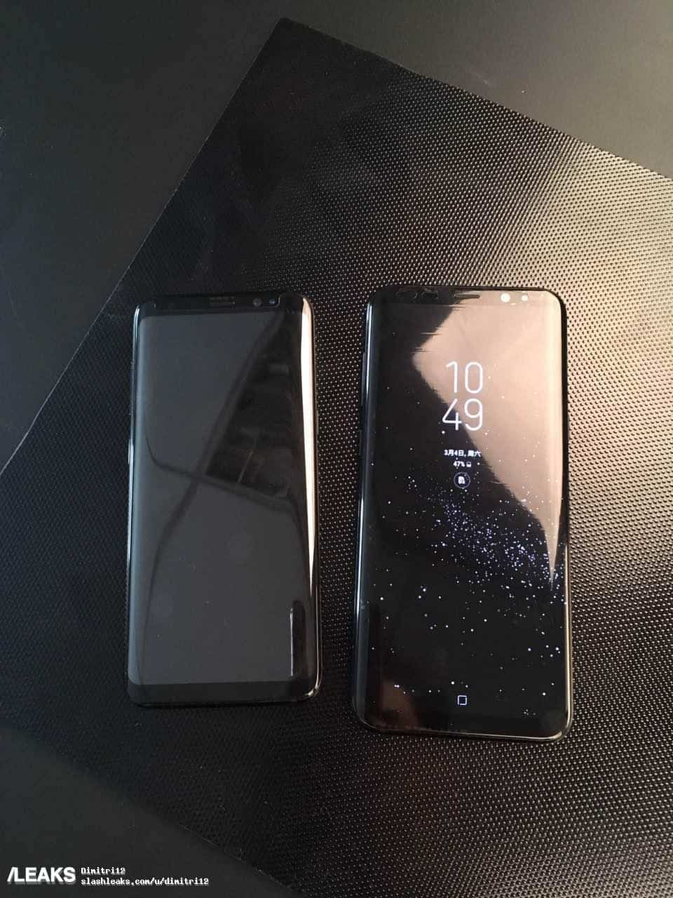 Samsung Galaxy S8 and Galaxy S8 Plus leak 1