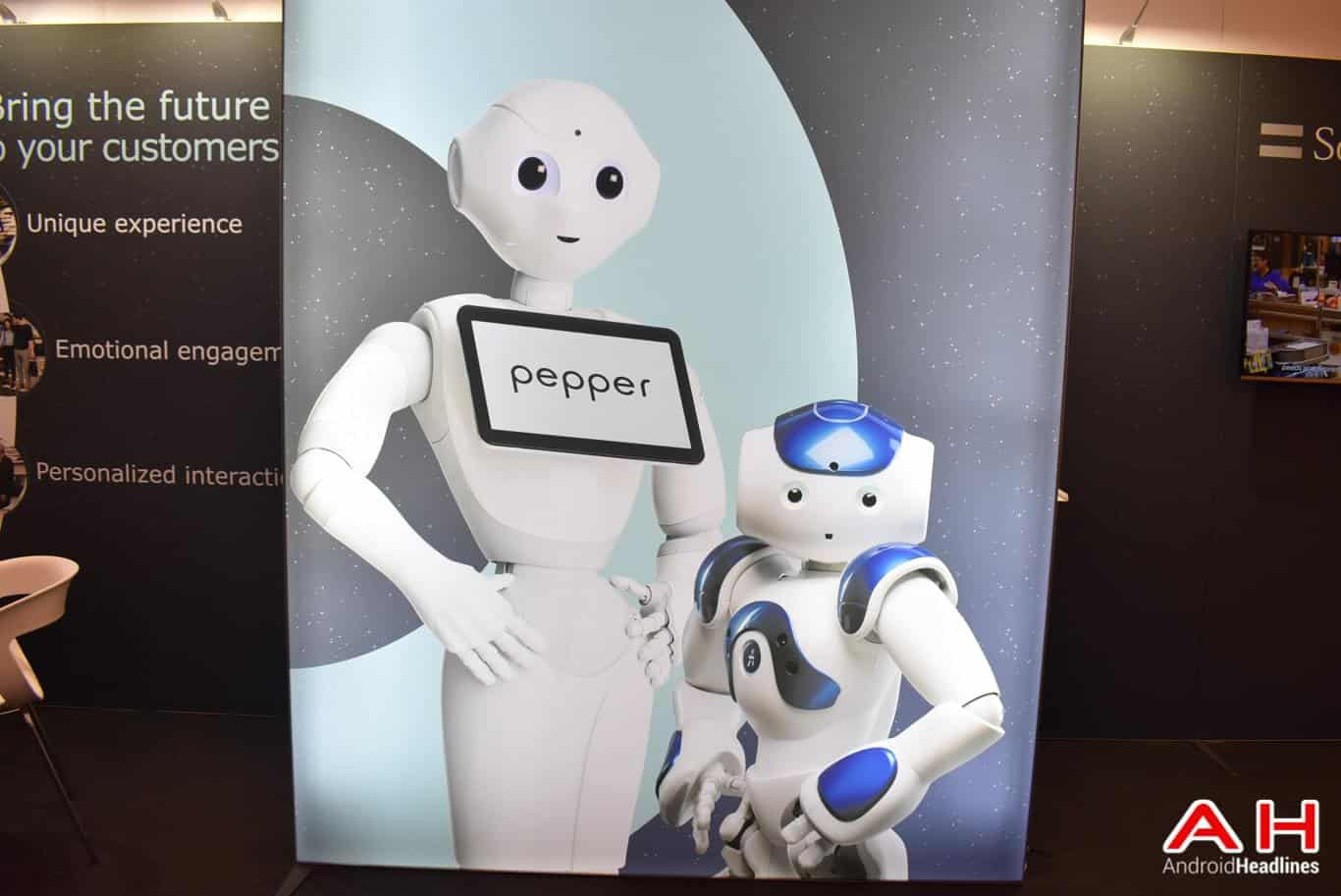 SoftBank Pepper Robot AH 13