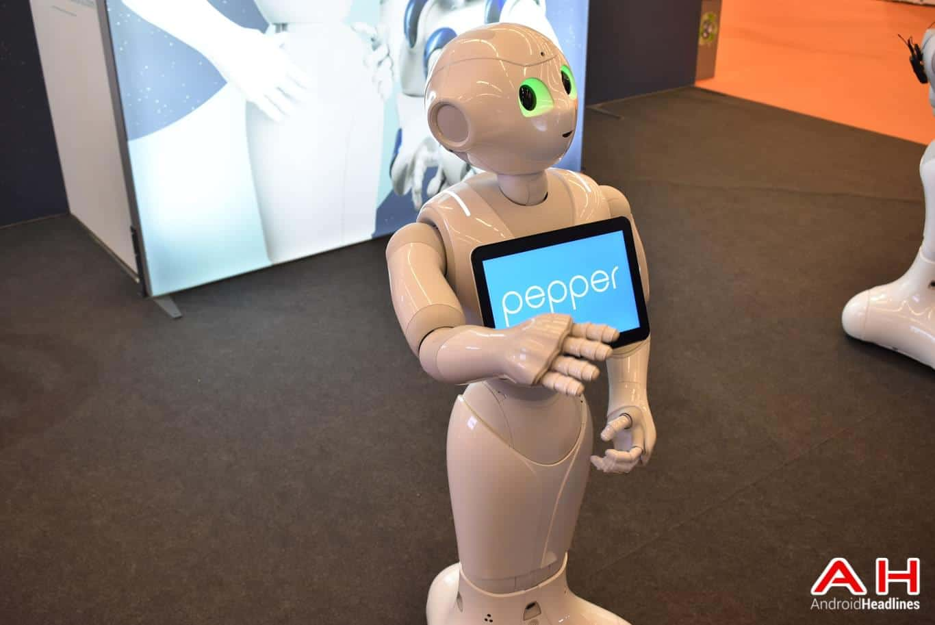 SoftBank Pepper Robot AH 8
