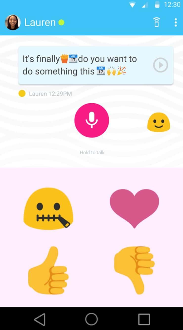 Supersonic Fun Voice Messenger Screenshot 4