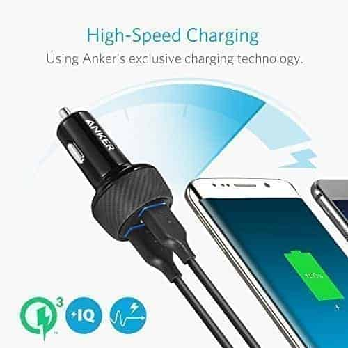 anker qc3 car charger 3