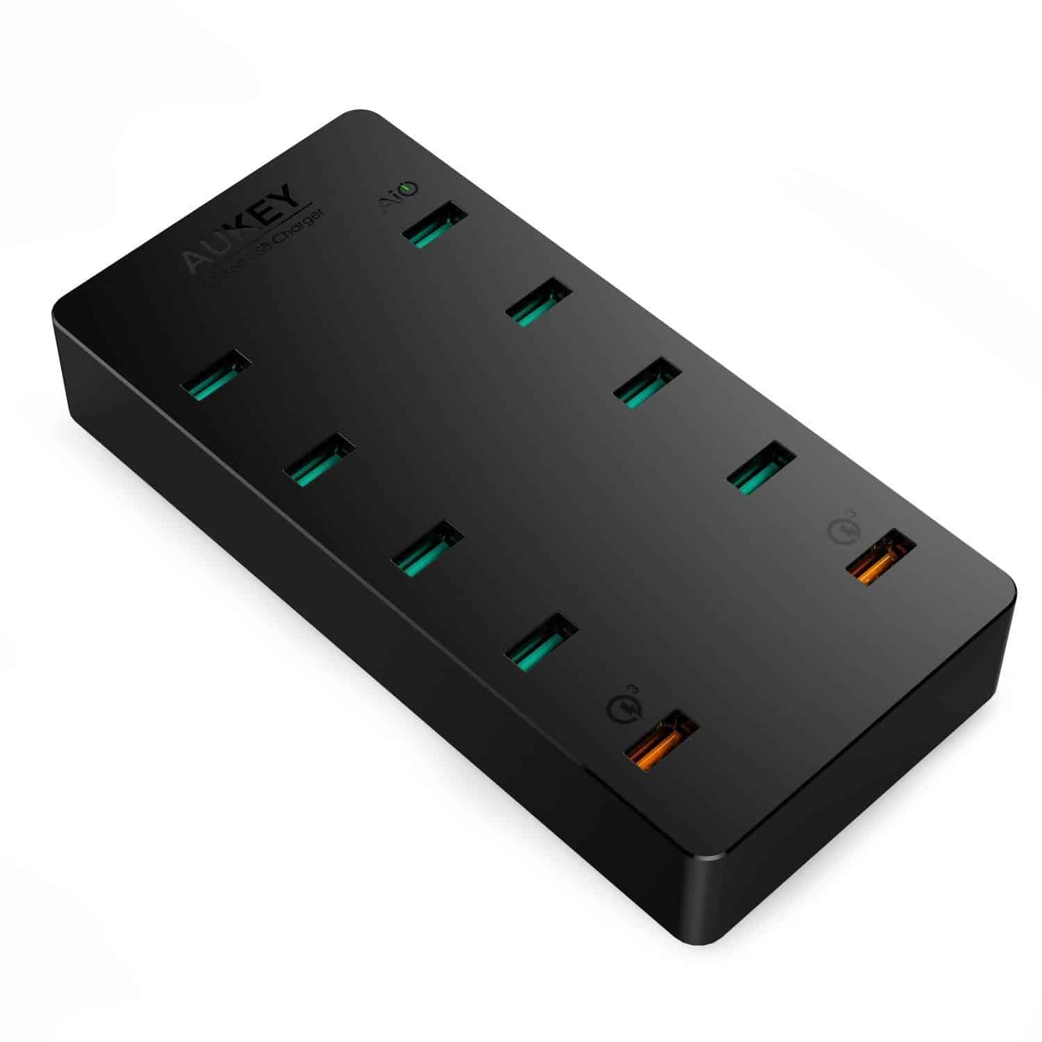 aukey 10 port charging station 6