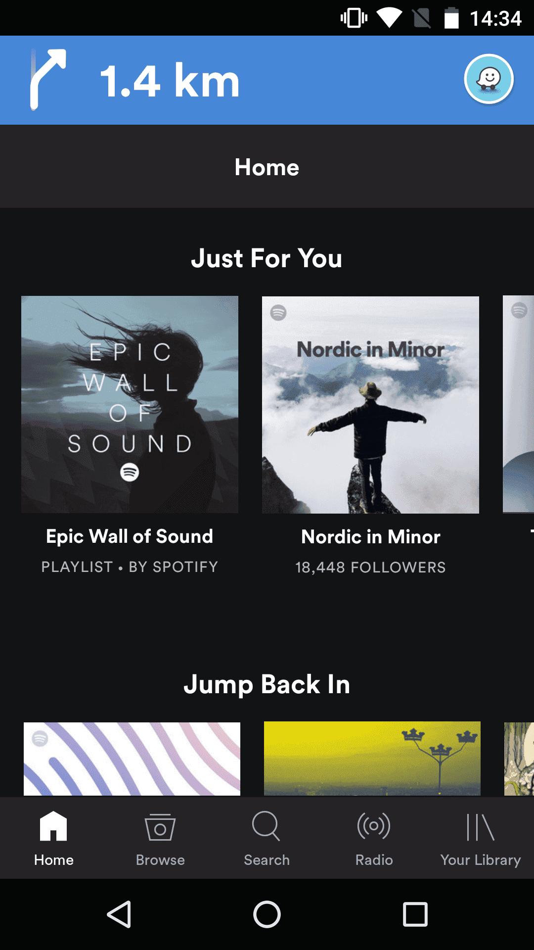 Spotify Waze