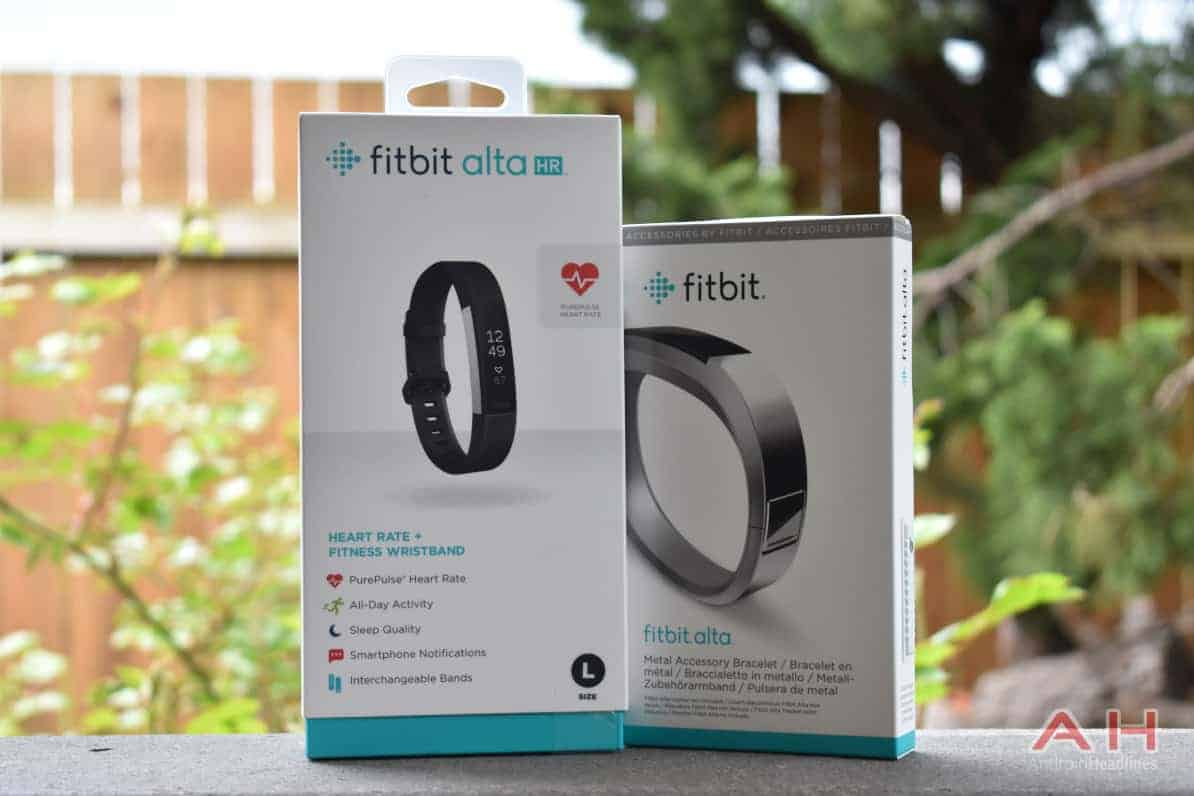 Fitbit Alta Hr Review A Slim Stylish Capable Tracker Metal Accessory Bracelet There Is Also Slight Change To The Pattern On Silicone Band Though You Wouldnt Know It Without Looking Closely At Both Models