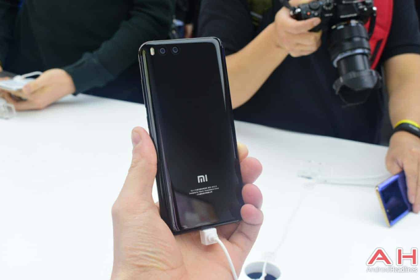 AH Xiaomi Mi 6 hands on 1