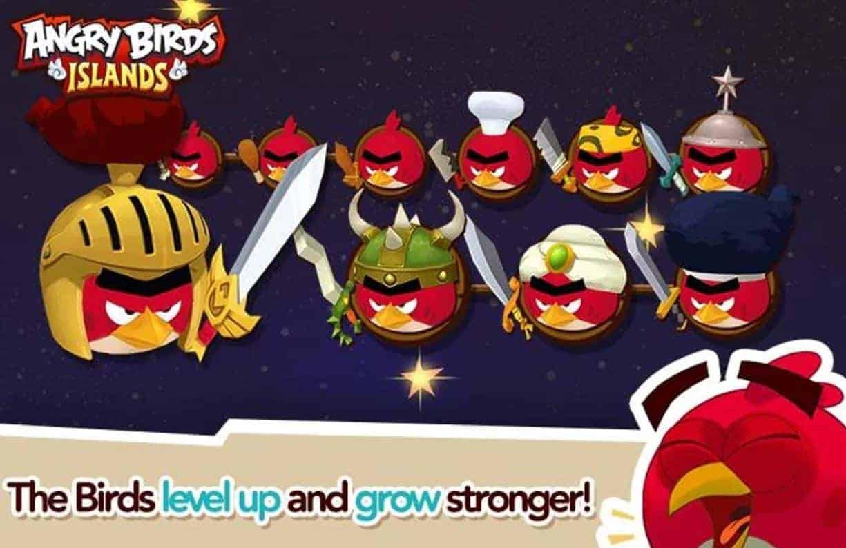 Angry Birds Islands 6