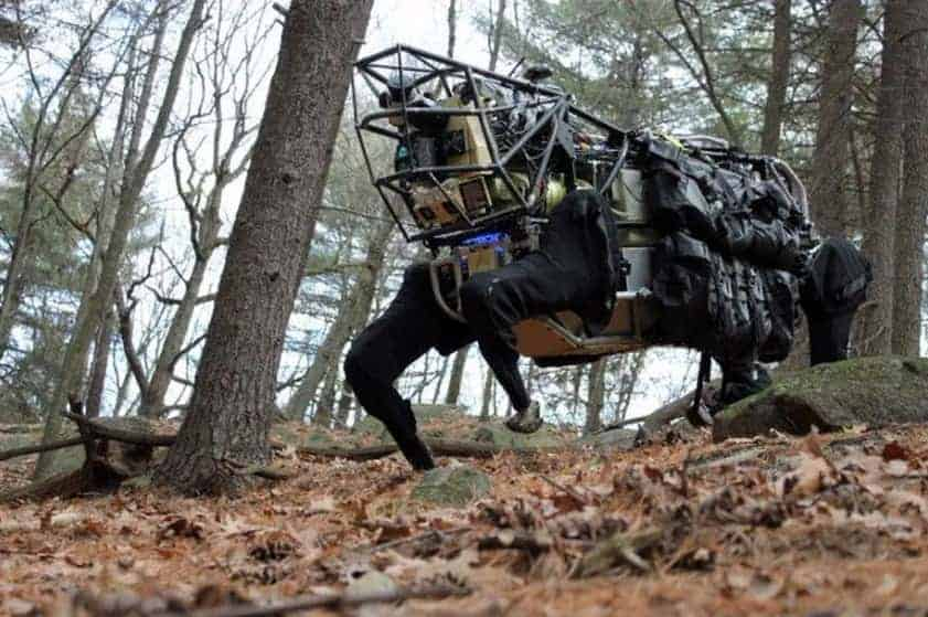 Boston Dynamics dog like robot 11