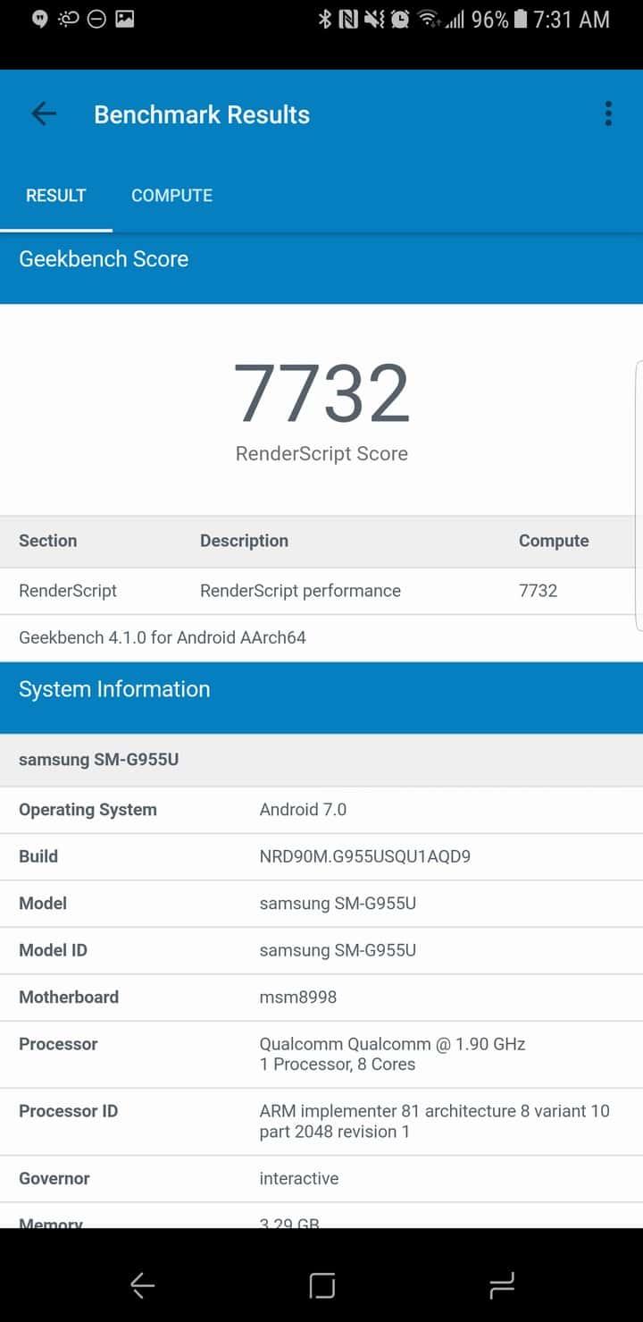 Galaxy S8 AH NS Screenshot benchmark 06
