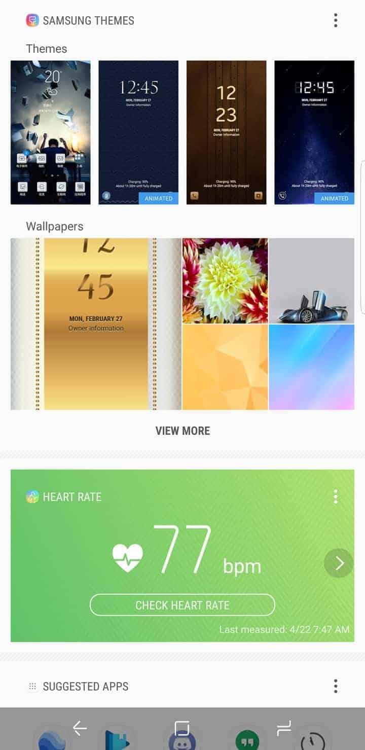 Galaxy S8 AH NS Screenshot bixby 02