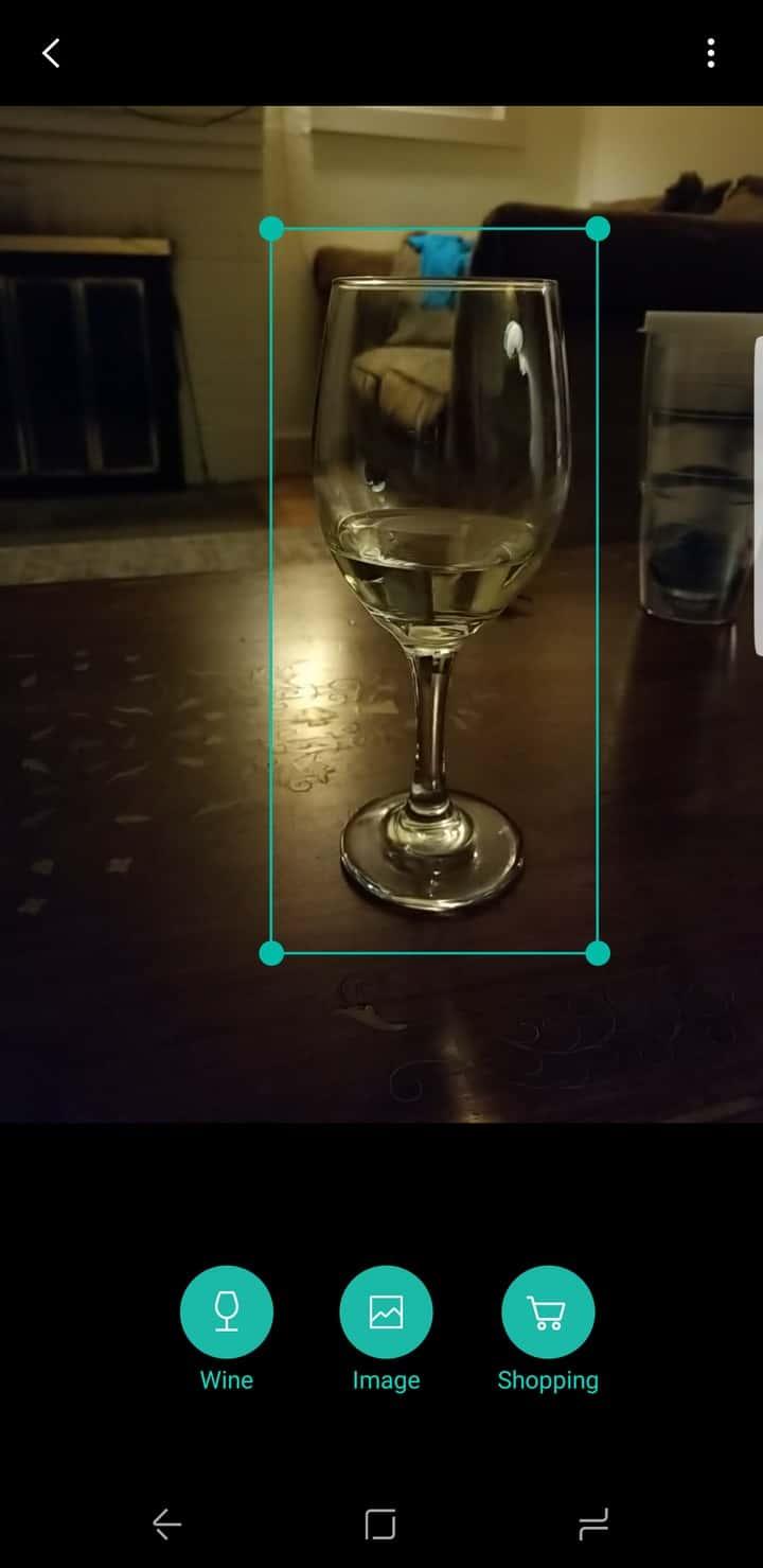 Galaxy S8 AH NS Screenshot camera bixby vision 1