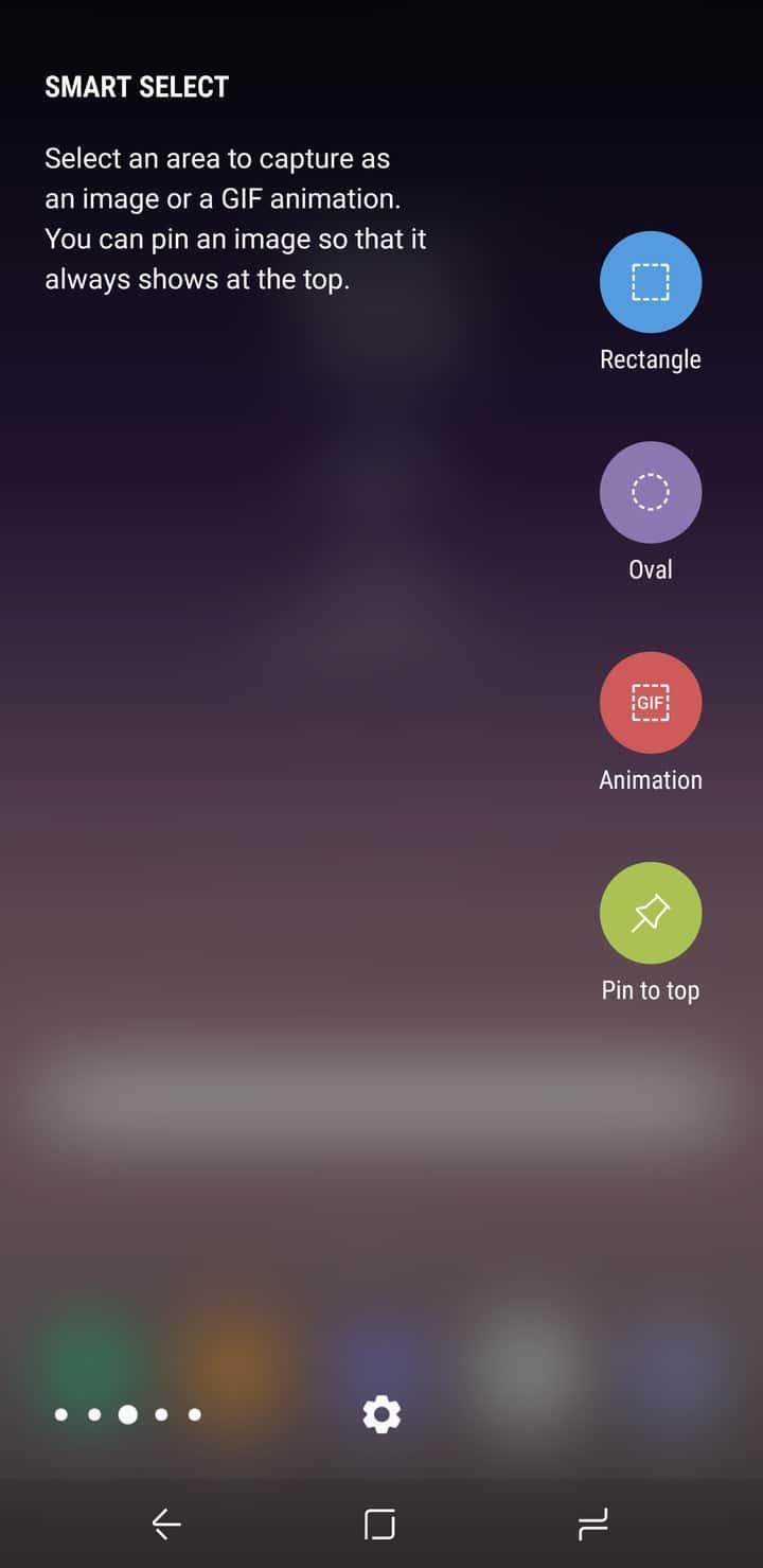 Galaxy S8 AH NS Screenshot display edge crop