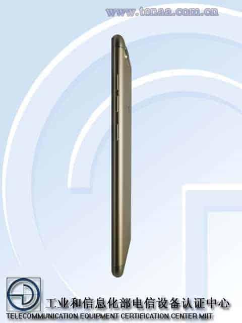 Gionee S10 TENAA 4