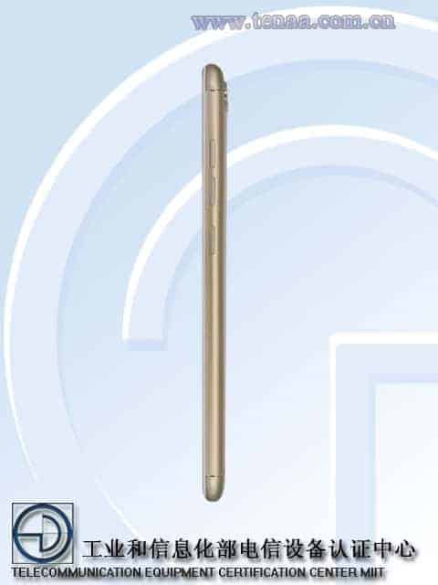 Gionee S10 TENAA 7
