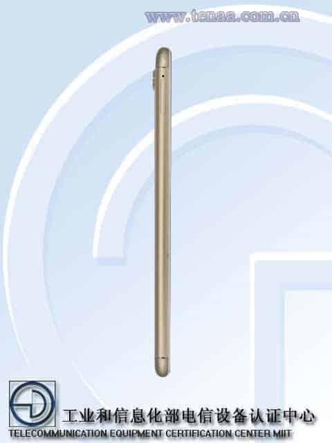 Gionee S10 TENAA 8