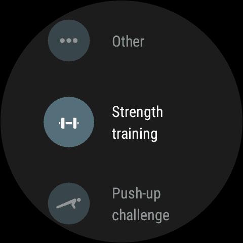 Google Fot For Wear 2.0 Strength Training tracker 11