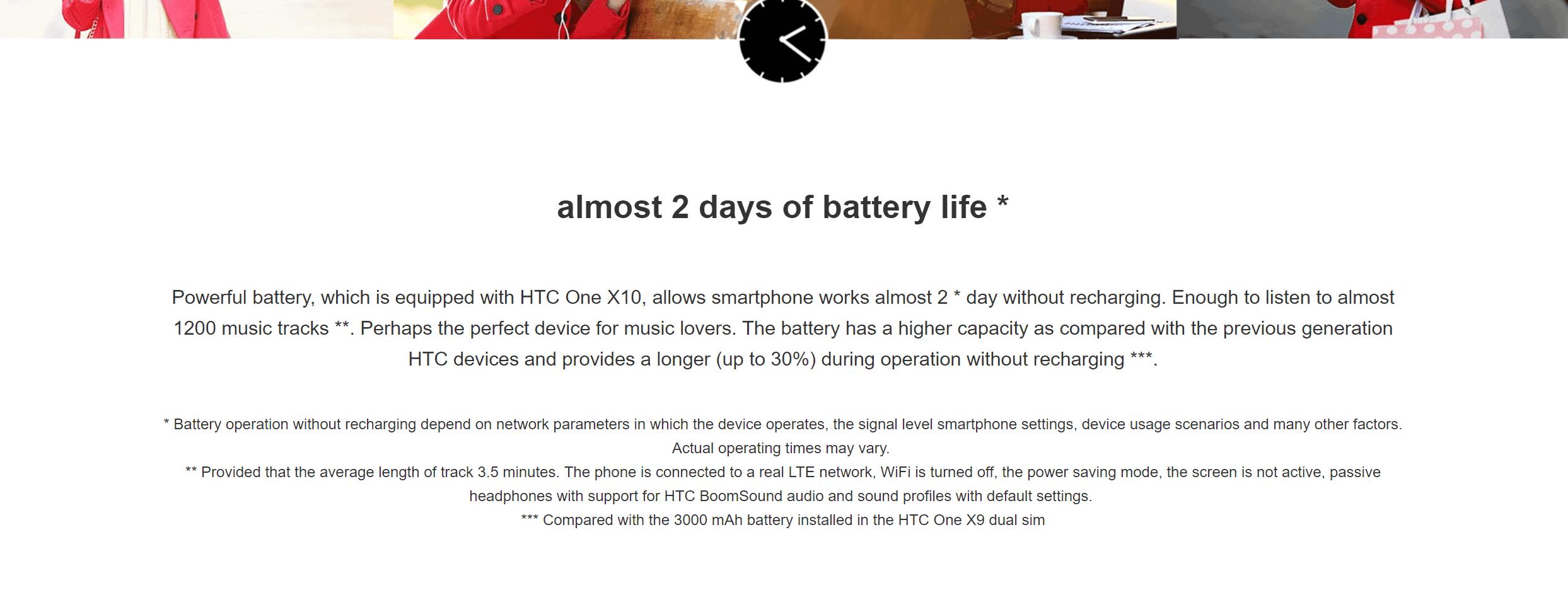 HTC One x10 7