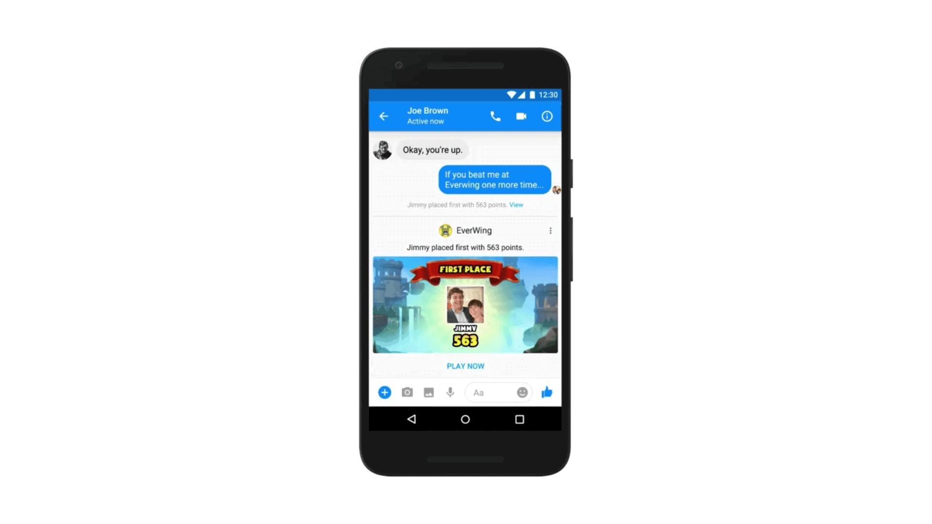 Messenger Update 1