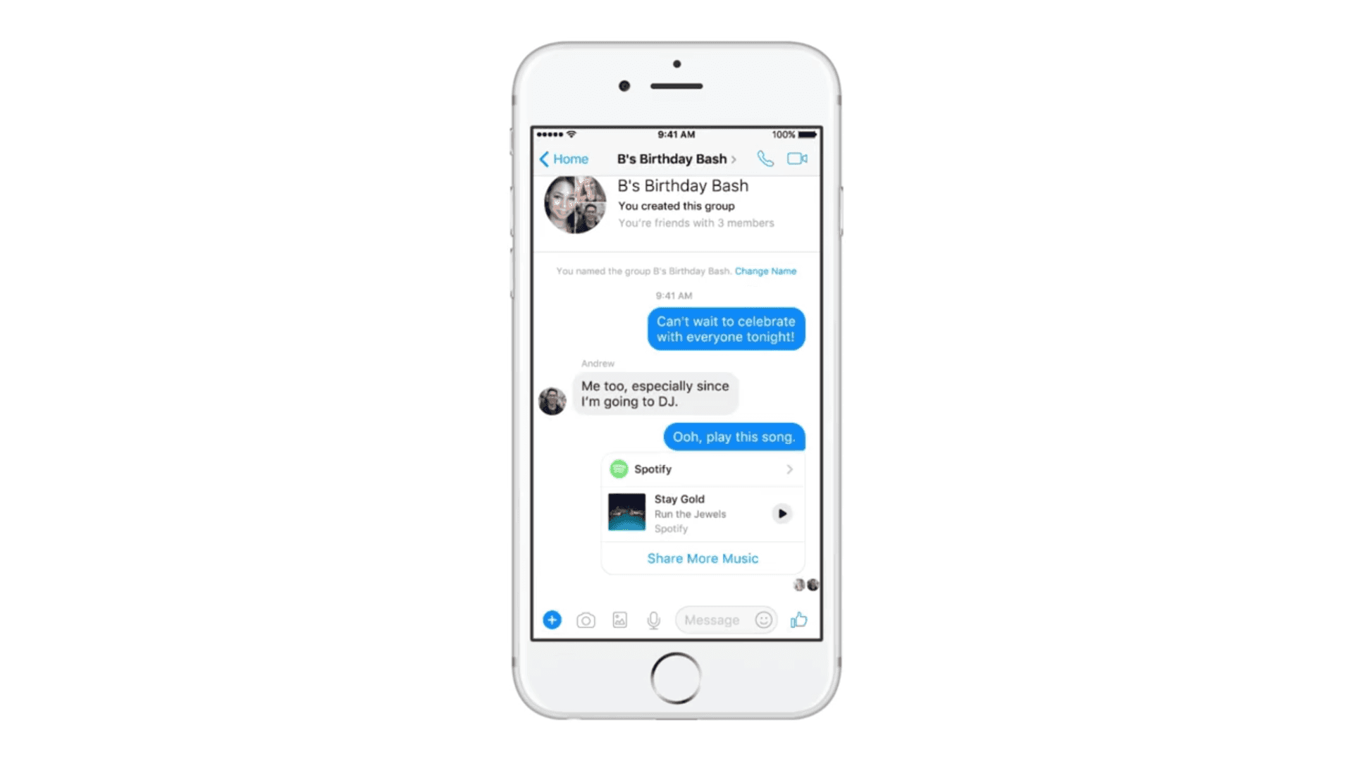 Messenger Update 5