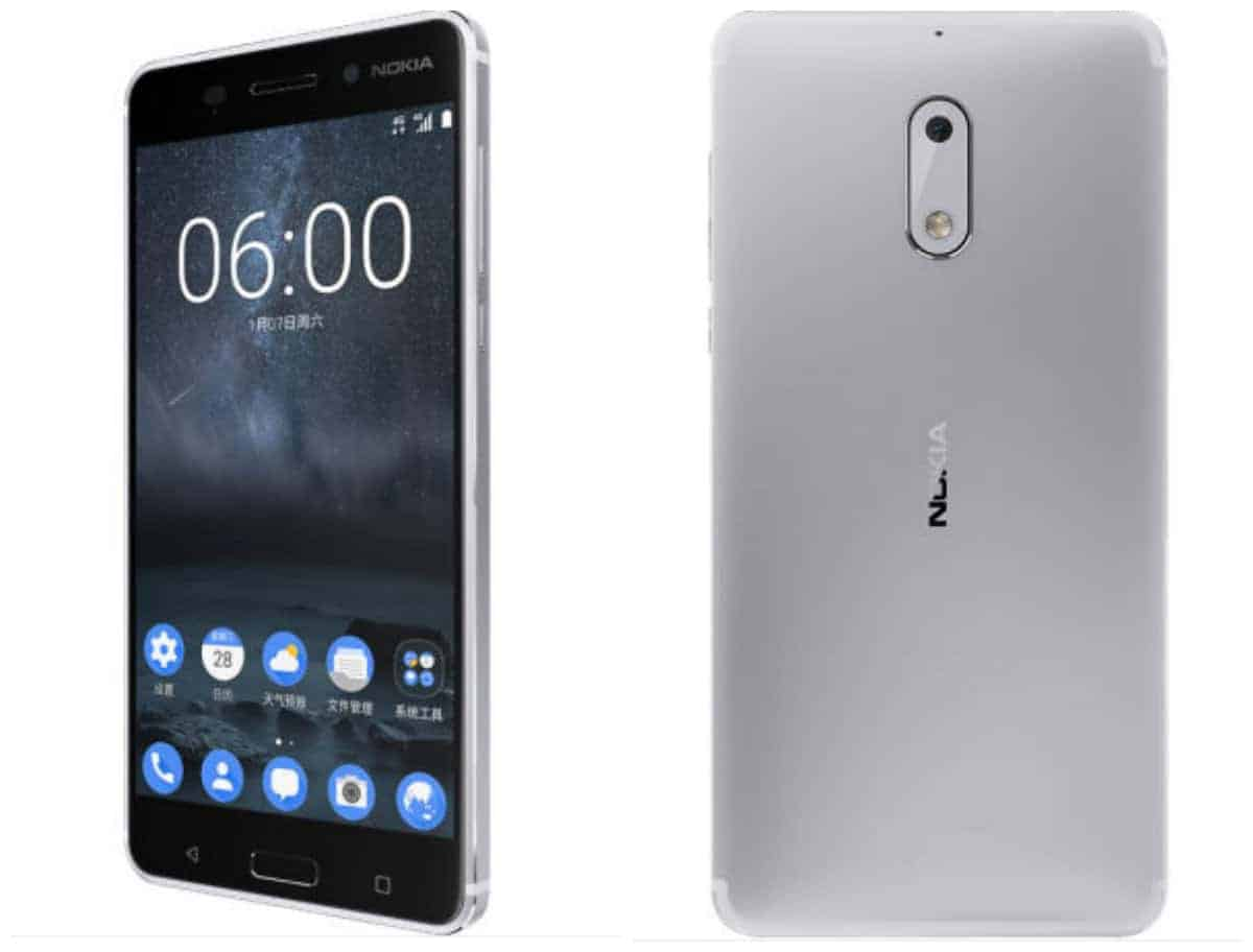 silver colored nokia 6 now available for pre order in