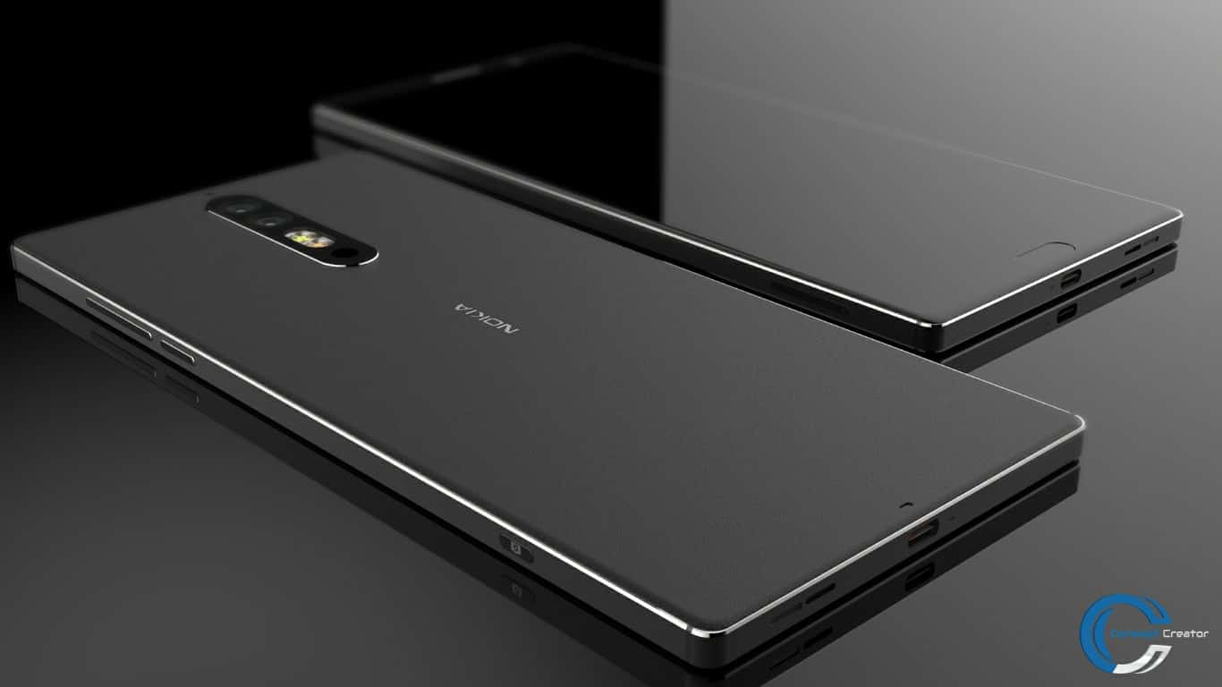 video nokia 8 concept comes with a dual camera setup