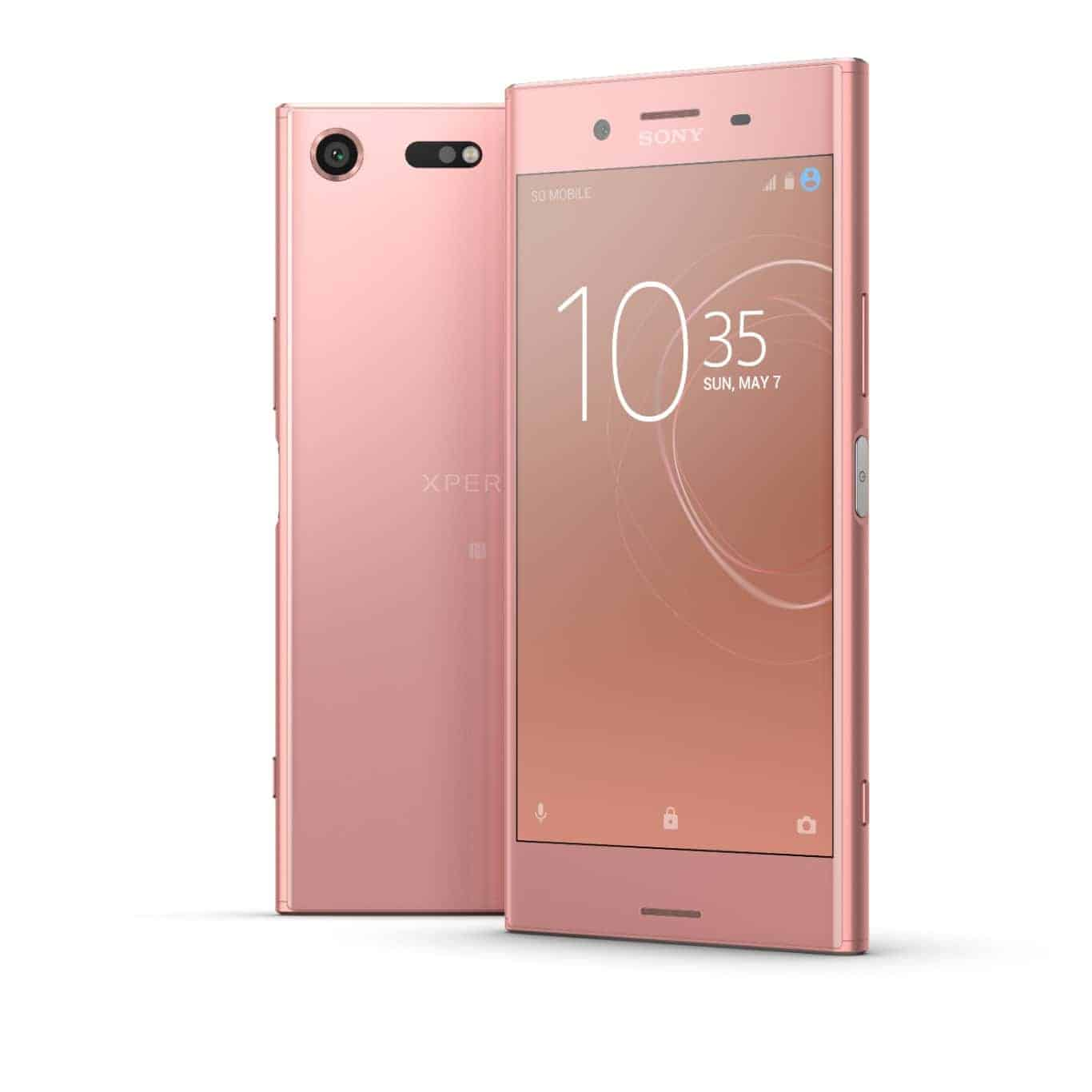 Bronze pink sony xperia xz premium coming to the uk in for Housse xperia xz premium