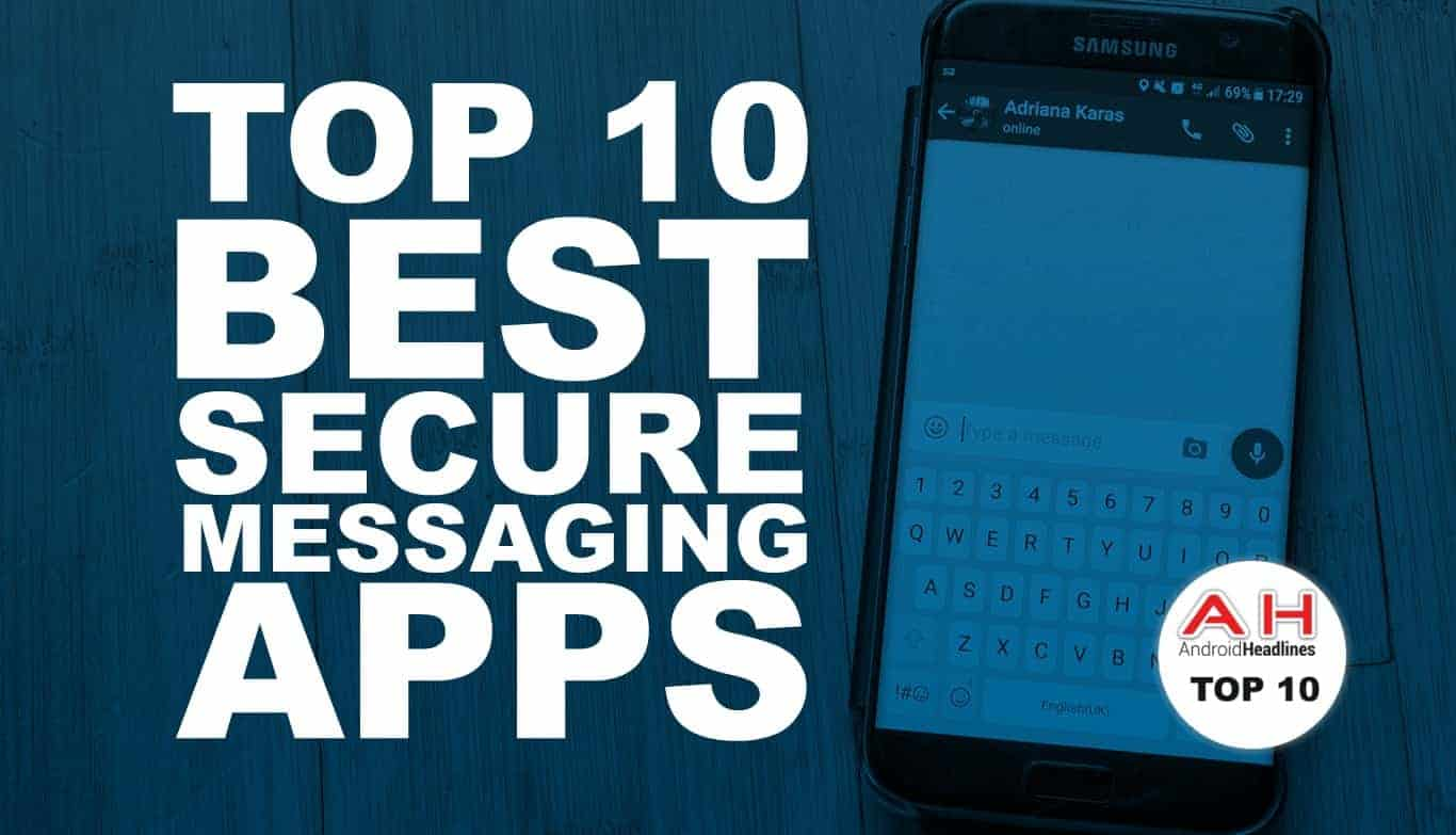 best secure texting app