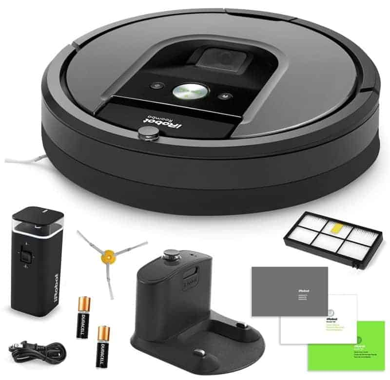 pick up the irobot roomba 960 robot vacuum for 599 5 9 17. Black Bedroom Furniture Sets. Home Design Ideas