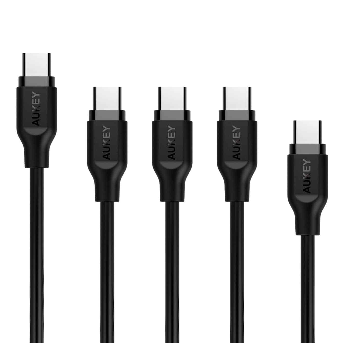 Best usb c cables for samsung galaxy s8 s8 plus may 2017 aukey has a five pack of usb a to usb c cables here that work great on the galaxy s8 in this pack of five you get three different lengths greentooth Gallery