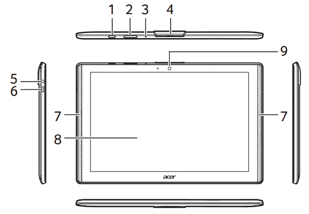 Acer Iconia A40 1