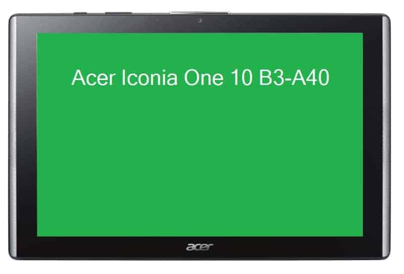 specs renders of acer iconia one 10 b3 a40 leak online android news. Black Bedroom Furniture Sets. Home Design Ideas