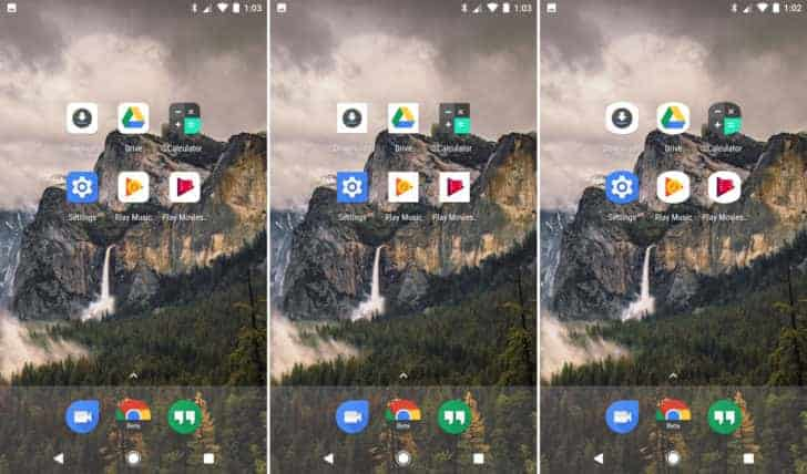 Android O Pixel Launchr App Icons AP 1