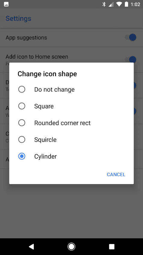 Android O Pixel Launchr App Icons AP 2