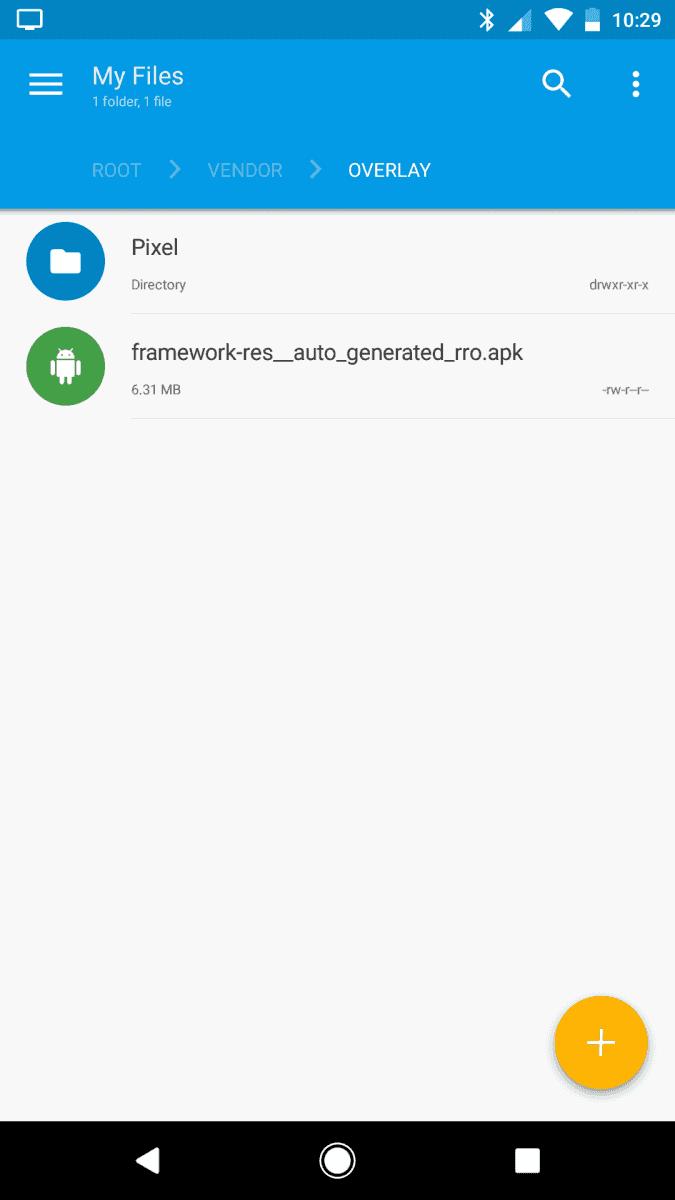 Android O RRO Custom Themes Evidence XDA 3