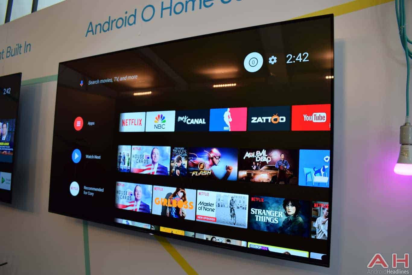 A Closer Look At Android TV's New Android O Interface ...