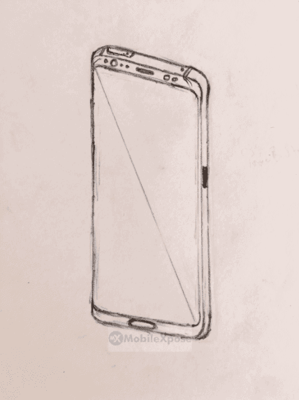 Galaxy Note 8 sketch leak 1