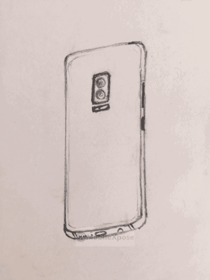 Galaxy Note 8 sketch leak 2