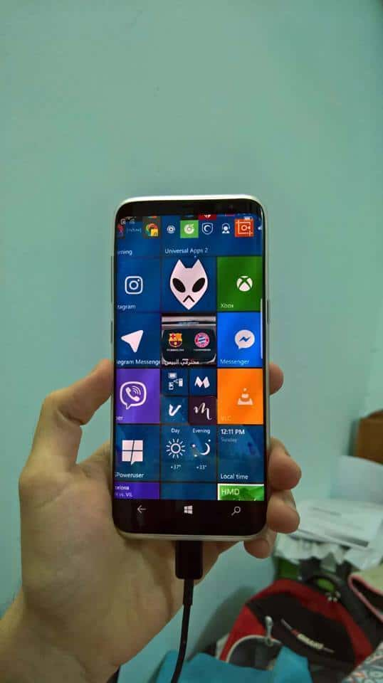 Galaxy S8 Windows 10 2