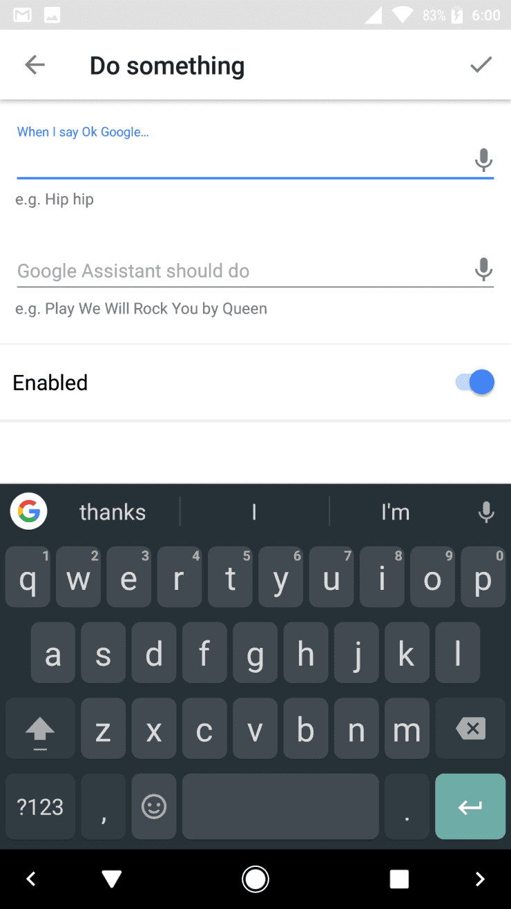 Google Assistant IFTTT 3