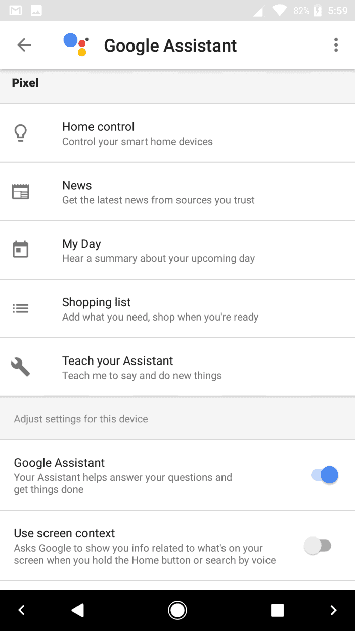 Google Assistant IFTTT