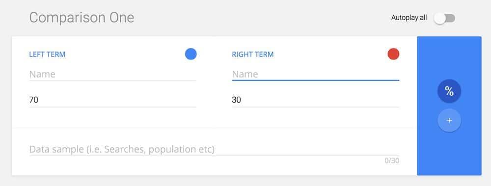Google Data GIF Maker Step 1