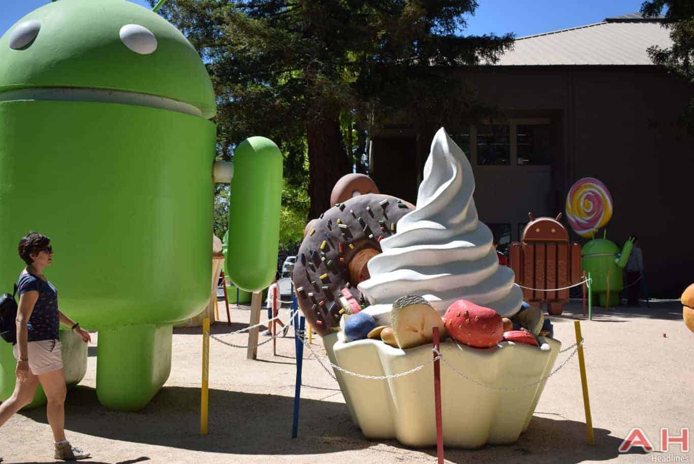 Googleplex Android Statue Google AH 1