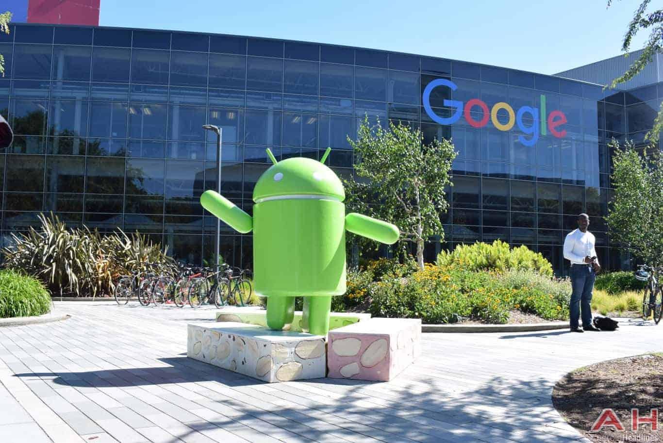 Googleplex Android Statue Google AH 18
