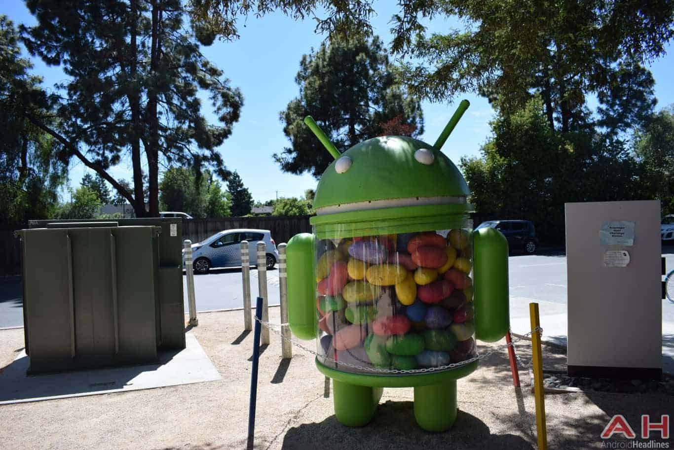 Googleplex Android Statue Google AH 7