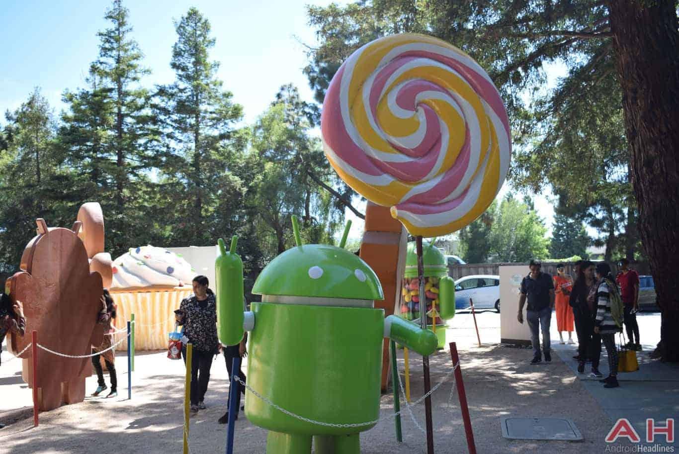 Googleplex Android Statue Google AH 8