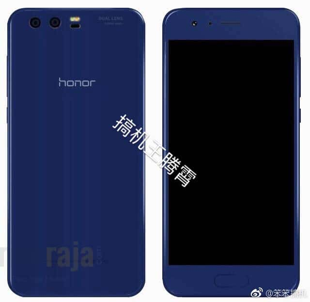 Honor 9 Blue Render Leak