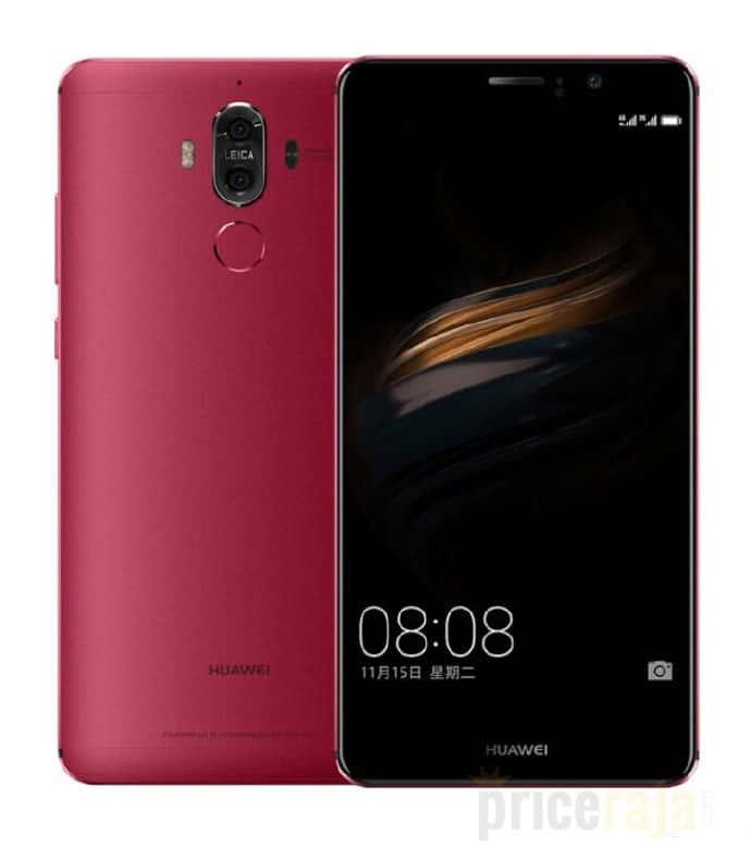 Huawei Mate 9 Red leak 1