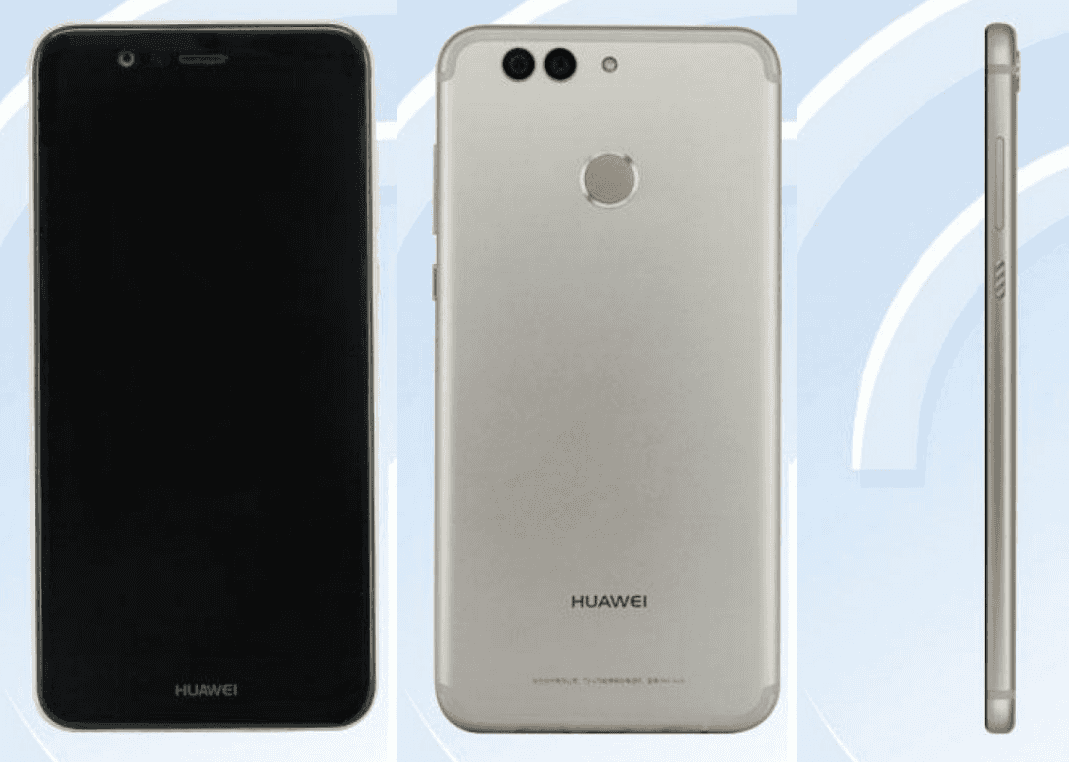 up ing huawei nova 2 plus pops up in three new images