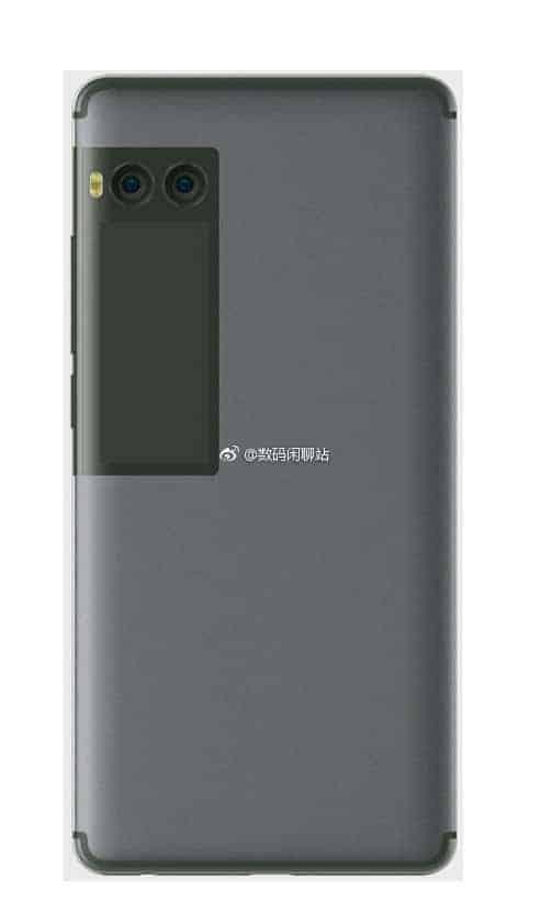 Meizu Pro 7 Dual Display Leak 2