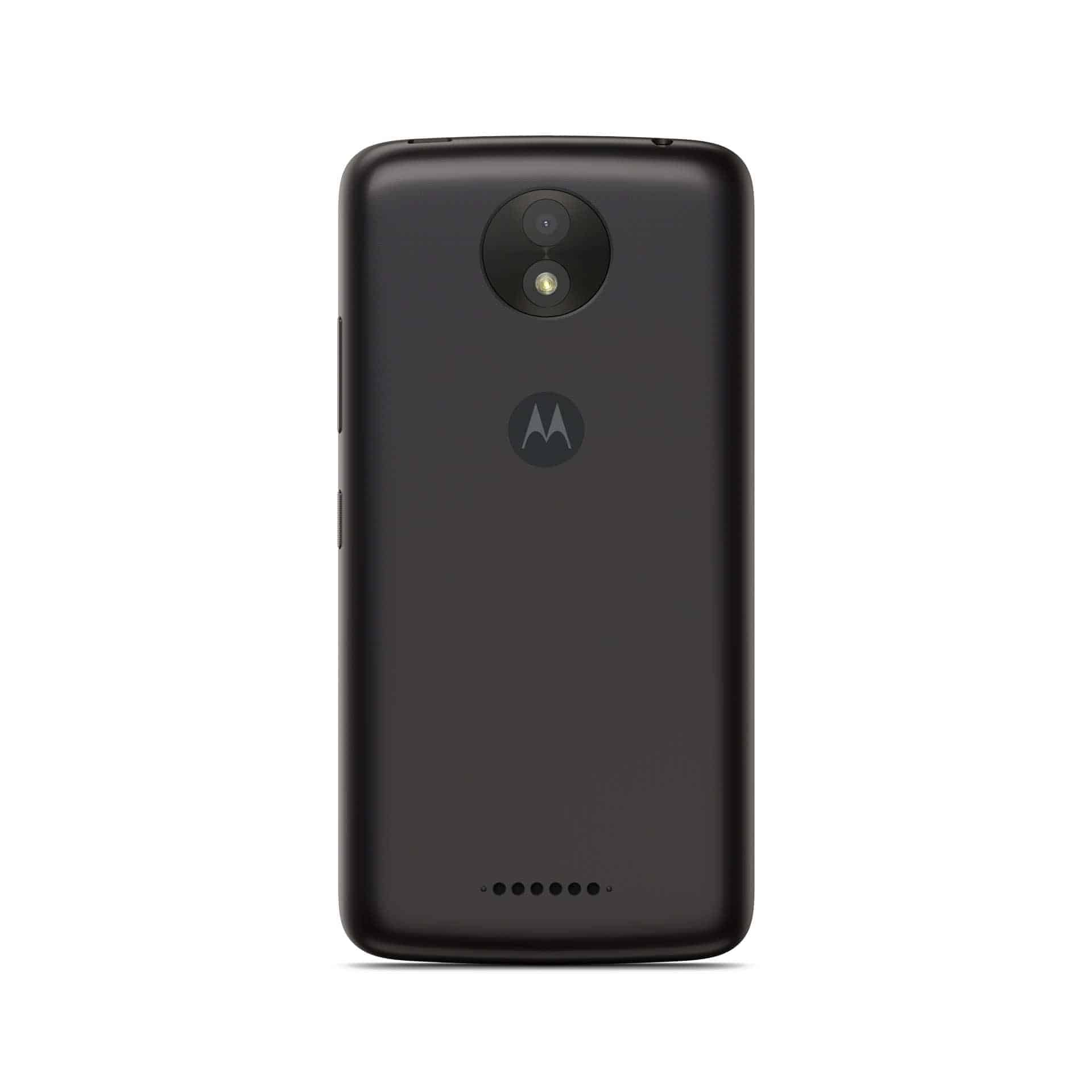 Moto C Plus Starry Black Front